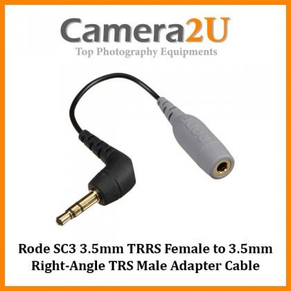 Rode SC3 3.5mm TRRS to TRS Adaptor for SmartLav SmartLav+