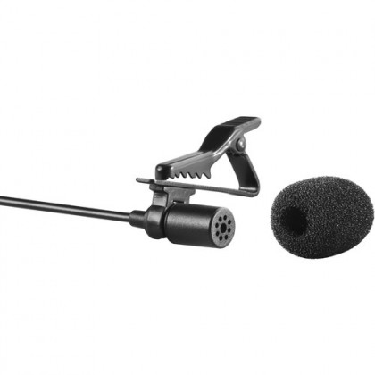 READY STOCK Original Boya BY-M1 BYM1 Omnidirectional Lavalier Microphone Clip Mic For Smartphone DSLR PC