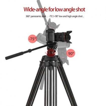Beike QZSD Q880 Camera Tripod Aluminum Alloy Professional Photography Stand DSLR Tripod Big Tripod