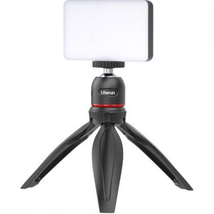 READY STOCK Ulanzi MT-17 Mini Tabletop Tripod with 1/4'' Screw Push-Button Control 360° Ball Head Selfie Stick for Smartphone DSLR Camera MT17