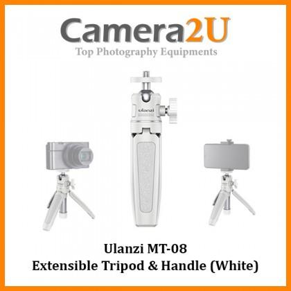 READY STOCK Ulanzi MT-08 Extensible Tripod & Handle MT08 (White)
